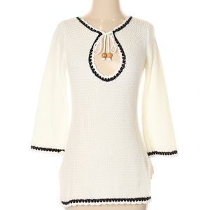 BANANA REPUBLIC Cotton Knit Beach Cover-Up Tunic